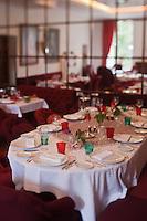 Europe/France/Provence -Alpes-Cote d'Azur/83/Var/Saint-Tropez: Restaurant Pan Deï Palais