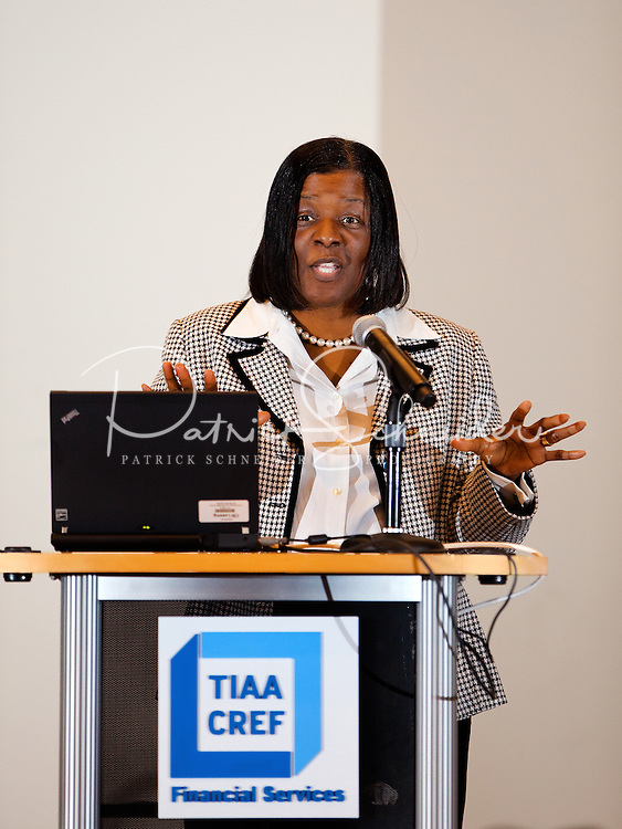 TIAA-Cref job shadowing day with Vance High School and James Martin Middle at the Charlotte, North Carolina office.