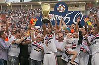 SÃO PAULO, SP, 25.01.2019: SÃO PAULO-VASCO -  São Paulo comemora vitoria em partida entre São Paulo e Vasco, pela Final da  Copa São Paulo no Estádio do Pacaembú, em São Paulo (SP), nesta segunda-feira (12). (Foto: Marivaldo Oliveira /Código19)