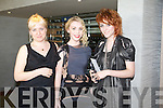 Joanne Hynes Sorcha Herlihy and Catriona McCarthy  at the Kerry Fashion Weekend Fashion Awards Lunch at the Aghadoe Heights Hotel, Killarney on Sunday.