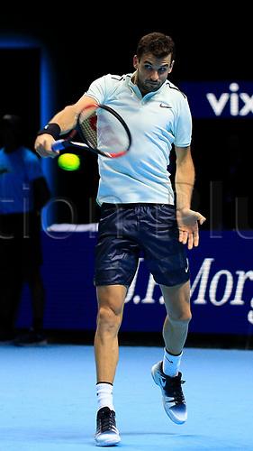 18th November 2017, O2 Arena, London, England; Nitto ATP Tennis Finals;