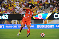East Rutherford, NJ - Friday June 17, 2016: Oscar Vilchez after a Copa America Centenario quarterfinal match between Peru (PER) vs Colombia (COL) at MetLife Stadium.