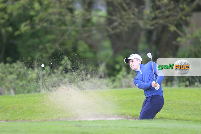 Edward Walsh (Mallow) during the final round of the Leinster Boys amateur open Championship, Headford Golf Club, Kells, Co. Meath. 21/04/2017.<br /> Picture: Golffile | Fran Caffrey<br /> <br /> <br /> All photo usage must carry mandatory copyright credit (&copy; Golffile | Fran Caffrey)