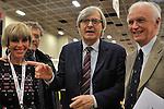 (KIKA) - TORINO - 18/05/2013 A Torino si tiene il 26° Salone del Libro con esposizioni, dibattiti e grandi ospiti, al salone del Lingotto. Vittorio Sgarbi
