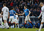 Jon Daly takes the acclaim after equalising for Rangers