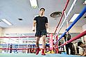 Boxing: Ryota Murata workout