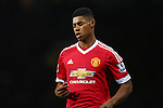 Marcus Rashford of Manchester United dejected - Barclay's Premier League - Manchester United vs Watford - Old Trafford - Manchester - 02/03/2016 Pic Philip Oldham/SportImage