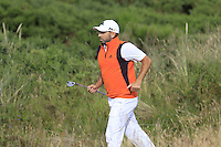 Sergio Garcia (ESP) runs to the 14th green during Thursday's Round 1 of the 145th Open Championship held at Royal Troon Golf Club, Troon, Ayreshire, Scotland. 14th July 2016.<br /> Picture: Eoin Clarke | Golffile<br /> <br /> <br /> All photos usage must carry mandatory copyright credit (&copy; Golffile | Eoin Clarke)