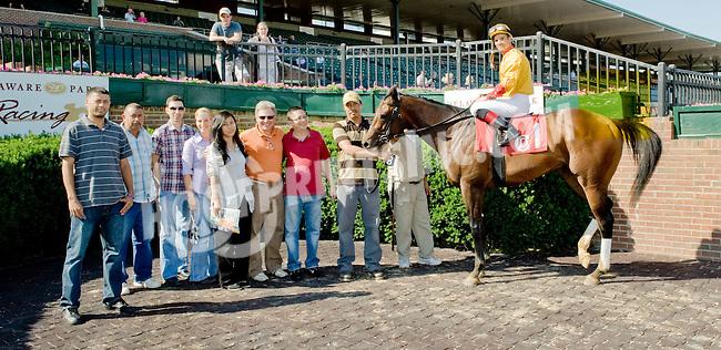 Arturius winning at Delaware Park on 6/6/12