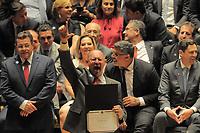 SÃO PAULO,SP,18.12.2018 - DIPLOMAÇÃO-SP - Paulo Friorilo durante cerimonia de diplomação dos candidatos eleitos para assumir o cargo em janeiro 2019. A cerimonia foi realizada na sala Sao Paulo nesta terça-feira, 18. (Foto Dorival Rosa/Brazil Photo Press)