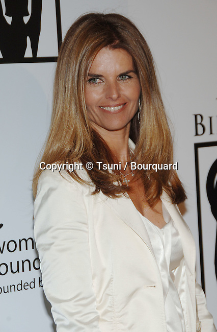 Maria Shriver arrving at the BILLIES AWARDS, celebrating Women's Sports and Physical Activity at the Beverly Hilton in Los Angeles. April 20,  2006.