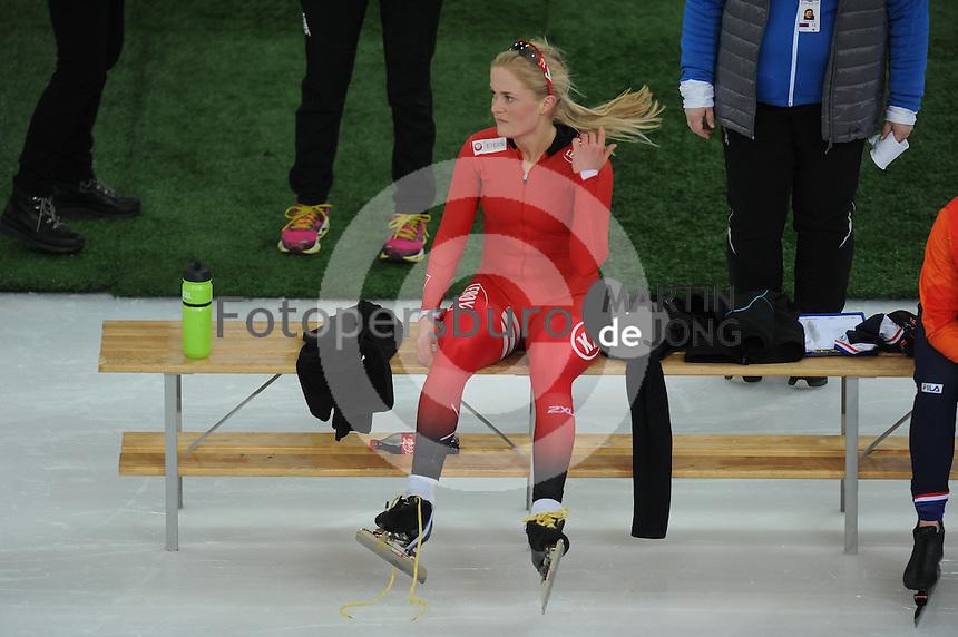SPEED SKATING: HAMAR: Vikingskipet, 04-03-2017, ISU World Championship Allround, 3000m Ladies, Camilla Lund (NOR), ©photo Martin de Jong