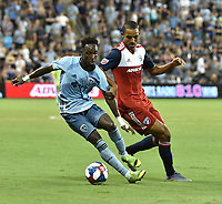 Kansas City, Kansas - Saturday, July 20, 2019: FC Dallas defeated Sporting KC 2-0 in a Major League Soccer (MLS) game at Children's Mercy Park.