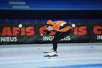 SCHAATSEN: HEERENVEEN: 19-11-2016, IJsstadion Thialf, KNSB trainingswedstrijd, Tjerk de Boer, ©foto Martin de Jong
