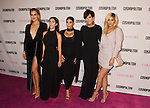 WEST HOLLYWOOD, CA - OCTOBER 12: (L-R) TV personalities Khloe Kardashian, Kourtney Kardashian, Kim Kardashian, Kris Jenner and Kylie Jenner arrive at Cosmopolitan Magazine's 50th Birthday Celebration at Ysabel on October 12, 2015 in West Hollywood, California.