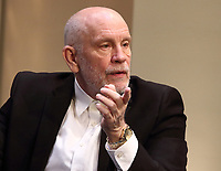 Hollywood actor John Malkovich leads the cast of Bitter Wheat at the Garrick Theatre, London. Also starring Doon Mackichan, Ioanna Kimbook and Alexander Arnold. June 13th 2019<br /> <br /> Photo by Keith Mayhew