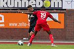 20.07.2019, Heinz Detmar Stadion, Lohne, Interwetten Cup 1. FC Köln vs SV Werder Bremen<br /> <br /> im Bild / picture shows <br /> <br /> Kingsley Ehizibue (Koeln #19)<br /> Milot Rashica (Werder Bremen #07)<br /> Foto © nordphoto / Kokenge