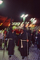 Europe/France/Languedoc-Roussillon/66/Pyrénées-Orientales/Collioure : procession de nuit de la Saint Sanch<br /> PHOTO D'ARCHIVES // ARCHIVAL IMAGES<br /> FRANCE 1980