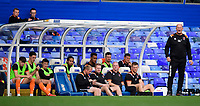 Blackpool manager Simon Grayson shouts instructions to his team from the technical area<br /> <br /> Photographer Chris Vaughan/CameraSport<br /> <br /> The EFL Sky Bet League One - Coventry City v Blackpool - Saturday 7th September 2019 - St Andrew's - Birmingham<br /> <br /> World Copyright © 2019 CameraSport. All rights reserved. 43 Linden Ave. Countesthorpe. Leicester. England. LE8 5PG - Tel: +44 (0) 116 277 4147 - admin@camerasport.com - www.camerasport.com