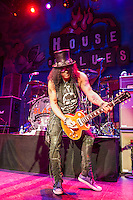 Slash with Myles Kennedy and the Conspirators at the House of Blues in New Orleans, LA.