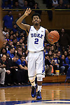31 December 2014: Duke's Quinn Cook. The Duke University Blue Devils hosted the Wofford College Terriers at Cameron Indoor Stadium in Durham, North Carolina in a 2014-16 NCAA Men's Basketball Division I game.