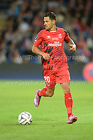 Cardiff City Stadium, Cardiff, South Wales - Tuesday 12th Aug 2014 - UEFA Super Cup Final - Real Madrid v Sevilla - <br /> <br /> Sevilla&rsquo;s Vitolo in action<br /> <br /> <br /> <br /> <br /> Photo by Jeff Thomas/Jeff Thomas Photography