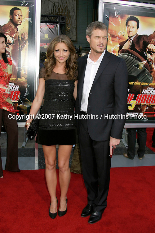 "Rebecca Gayheart & Eric Dane.""Rush Hour 3"" Premiere.Grauman's Chinese.Los Angeles, CA.July 30, 2007.©2007 Kathy Hutchins / Hutchins Photo...."