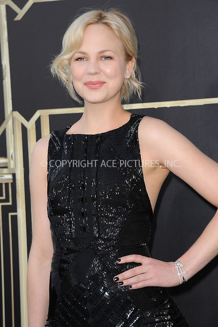 WWW.ACEPIXS.COM . . . . . .May 1, 2013...New York City...Adelaide Clemens attends 'The Great Gatsby' world premiere at Avery Fisher Hall at Lincoln Center for the Performing Arts on May 1, 2013 in New York City ....Please byline: KRISTIN CALLAHAN - ACEPIXS.COM.. . . . . . ..Ace Pictures, Inc: ..tel: (212) 243 8787 or (646) 769 0430..e-mail: info@acepixs.com..web: http://www.acepixs.com .