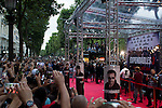 Fans attend the ' Expendable 3' cast for the  Movie Premiere at the 'UGC Normandie, in Paris.<br /> <br /> Paris, France 07 ao&ucirc;t 2014.