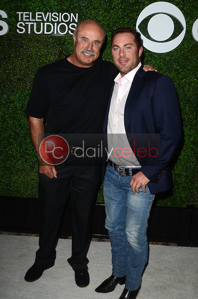 Phillip C. McGraw, Jay McGraw<br /> at the 4th Annual CBS Television Studios Summer Soiree, Palihouse, West Hollywood, CA 06-02-16<br /> David Edwards/Dailyceleb.com 818-249-4998