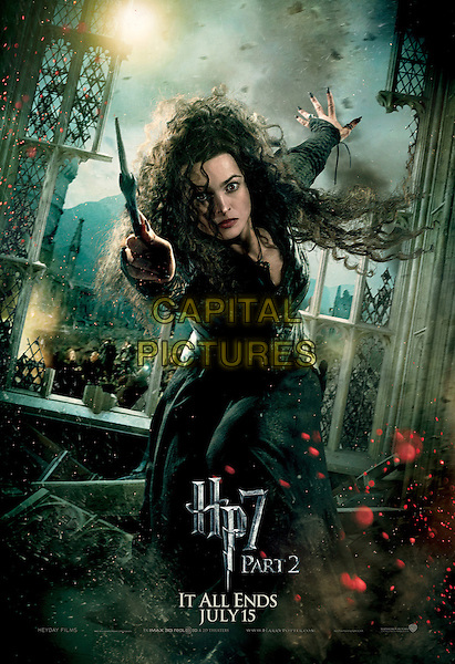 ACTION BELLATRIX POSTER ART.in Harry Potter and the Deathly Hallows: Part 2 .*Filmstill - Editorial Use Only*.CAP/FB.Supplied by Capital Pictures.