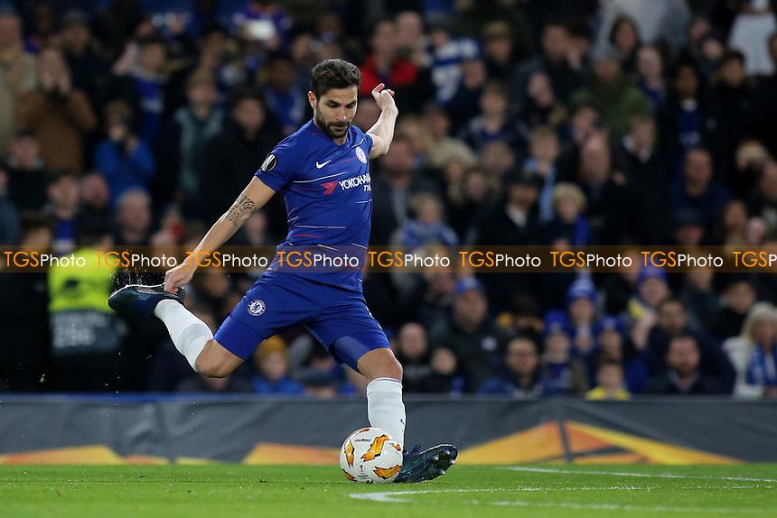 Cesc Fabregas of Chelsea in action during Chelsea vs PAOK Salonika, UEFA Europa League Football at Stamford Bridge on 29th November 2018