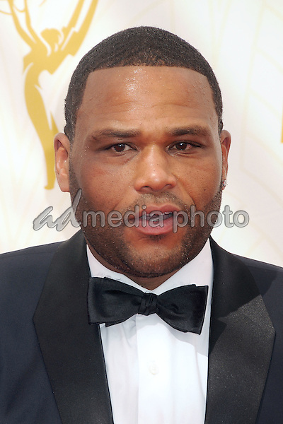 20 September 2015 - Los Angeles, California - Anthony Anderson. 67th Annual Primetime Emmy Awards - Arrivals held at Microsoft Theater. Photo Credit: Byron Purvis/AdMedia