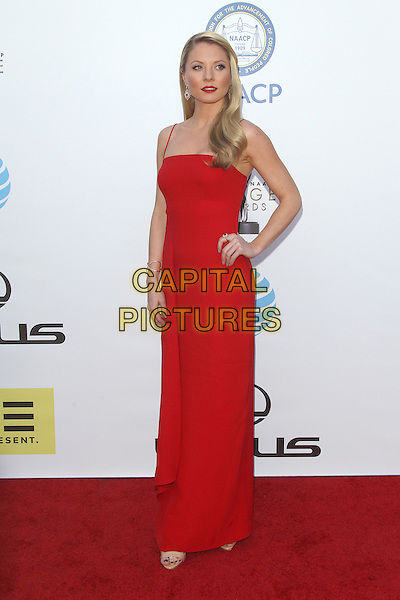 PASADENA, CA - FEBRUARY 5: Kaitlin Doubleday at the 47th NAACP Image Awards presented by TV One at Pasadena Civic Auditorium on February 5, 2016 in Pasadena, California. <br /> CAP/MPI25<br /> &copy;MPI25/Capital Pictures