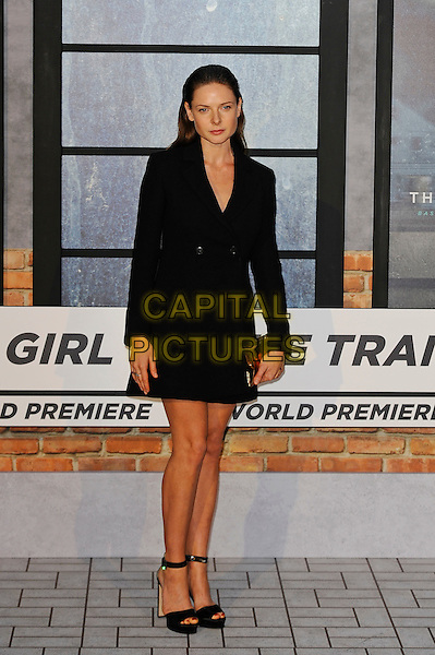 LONDON, ENGLAND - SEPTEMBER 20: Rebecca Ferguson attending 'The Girl On The Train' World Premiere at Odeon Cinema, Leicester Square on September 20, 2016 in London, England.<br /> CAP/MAR<br /> &copy;MAR/Capital Pictures