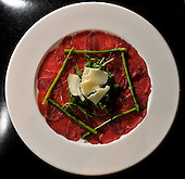 Grill on the Corner, Glasgow - carpaccio - picture by Donald MacLeod 18.11.10 - mobile 07702 319 738 - clanmacleod@btinternet.com - www.donald-macleod.com