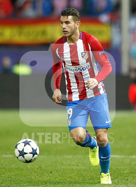 Atletico de Madrid's Lucas Hernandez during Champions League 2016/2017 Round of 16 2nd leg match. March 15,2017. (ALTERPHOTOS/Acero)