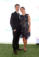 BEVERLY HILLS, CA - OCTOBER 7 : Jason Behr, KaDee Strickland, at The 2018 Rape Foundation Annual Brunch at Private Residence in Beverly Hills California on October 7, 2018. <br /> CAP/MPI/FS<br /> &copy;FS/MPI/Capital Pictures