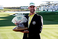 Webb Simpson (USA) after the final round of the Waste Management Phoenix Open, TPC Scottsdale, Phoenix, Arizona, USA. 01/02/2020<br /> Picture: Golffile | Phil INGLIS<br /> <br /> <br /> All photo usage must carry mandatory copyright credit (© Golffile | Phil Inglis)