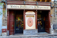 Antica Focacceria Ssn Francesco (the old bakery of St Francis), Palermo, palermo, sicily,