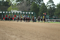 HOT SPRINGS, AR - APRIL 14: The start of the Arkansas Derby at Oaklawn Park on April 14, 2018 in Hot Springs, Arkansas. (Photo by Justin Manning/Eclipse Sportswire/Getty Images)