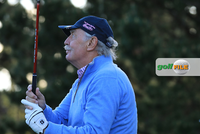 Dermot Desmond (A) during the first round of the AT&T Pro-Am, Pebble Beach Golf Links, Monterey, California, USA. 07/02/2019<br /> Picture: Golffile | Phil Inglis<br /> <br /> <br /> All photo usage must carry mandatory copyright credit (© Golffile | Phil Inglis)