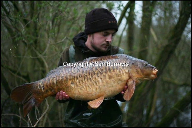 BNPS.co.uk (01202 558833)Pic: SamBurrows/BNPS<br /> <br /> Sam Burrows before his was left paralysed.<br /> <br /> A young angler has been left paralysed after he fell from a tree he had climbed to get a better view of fish in a lake.<br /> <br /> Sam Burrows, 20, wanted to tell where he should cast his bait so scaled the 35ft tree to look for where the fish were swimming.<br /> <br /> But he lost his grip and fell to the ground.<br /> <br /> An angling friend called 999 and Sam was stretchered off the bank by paramedics.<br /> <br /> The fall left him with a broken back and severed spinal cord. He had to have an 11 hour operation to pin his spine back in place.