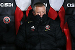 Sheffield United manager Chris Wilder during the Premier League match at Bramall Lane, Sheffield. Picture date: 10th January 2020. Picture credit should read: James Wilson/Sportimage