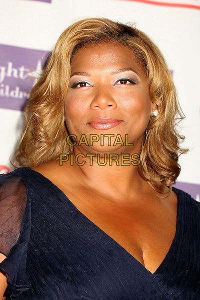 "QUEEN LATIFAH.Starlight Starbright Foundation's ""A Stellar Night Gala"" 2007 at the Beverly Hilton Hotel, Beverly Hills, California , USA, 23 March 2007..portrait headshot.CAP/ADM/BP.©Byron Purvis/AdMedia/Capital Pictures."