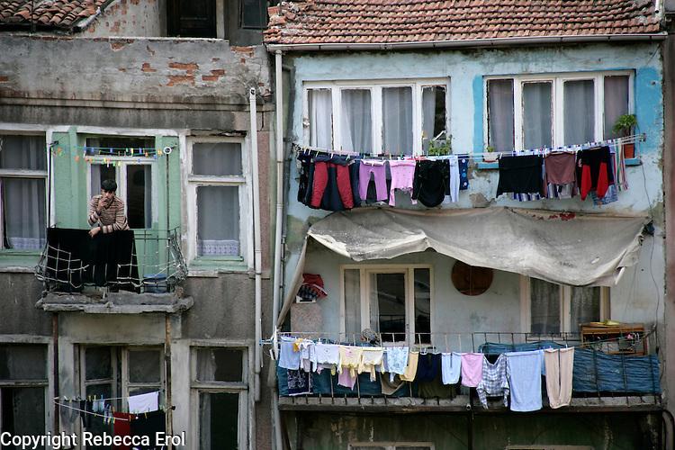 The historical neighbourhood of Fener, Istanbul, Turkey