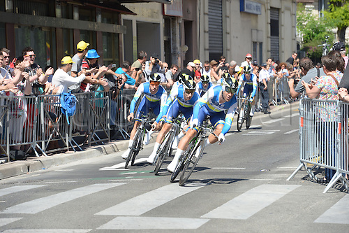 02.07.2013 Nice, France. Tour de France, Team Time Trial on stage 4 of the Tour De France from Nice. Orica - Greenedge 2013, Tuft Svein, Nice