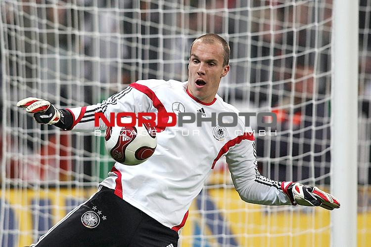 Qualifikation EM 2007 Gruppe: D -<br />  Deutschland (GER) vs. Tschechien (CZ). <br /> Torh&uuml;ter Robert Enke (Deutschland #23)<br /> . <br /> Foto &copy; nph (  nordphoto  )<br /> <br /> <br /> <br />  *** Local Caption ***