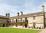Sexey's hospital, almshouses and chapel founded by Hugh Sexey in 1638, Bruton, Somerset, England, UK