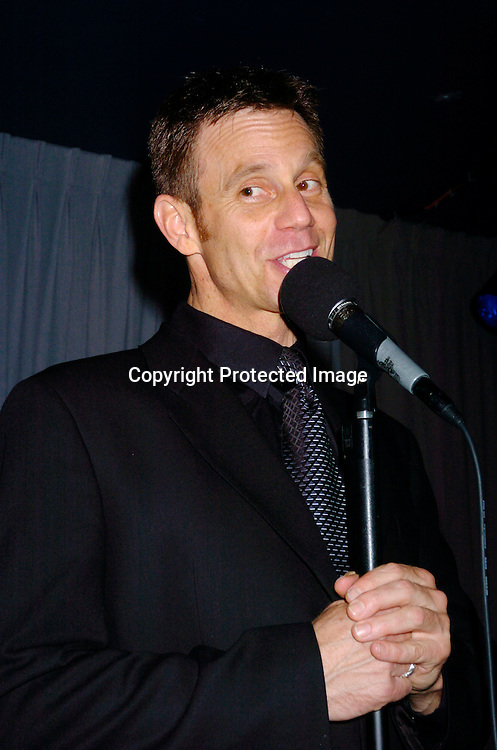 Gregg Marx singing..at Danny's Skylight Room for a performance by Gregg Marx ..on March 16, 2004 in New York City.  Gregg played Tom  ..Hughes on As The World Turns in 1987 and his mother ..was Eileen Fulton. ..Photo by Robin Platzer, Twin Images